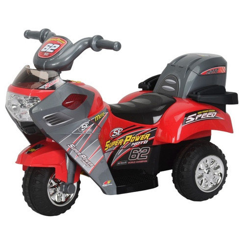 Best Ride On Cars Super Power 6V Battery Powered Motorcycle