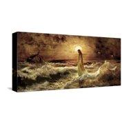 Christ on Water Stretched Canvas Print Wall Art By Jason Bullard