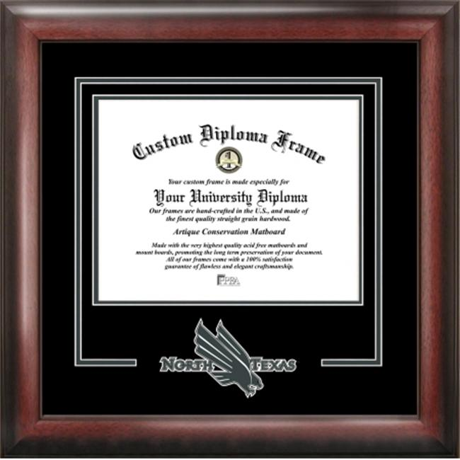 University of North Texas Spirit Diploma Frame