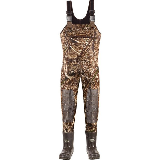 LaCrosse Super Brush-Tuff Insulated Boot-Foot Waders for Men Realtree Max-5 Medium 9 by jet.com