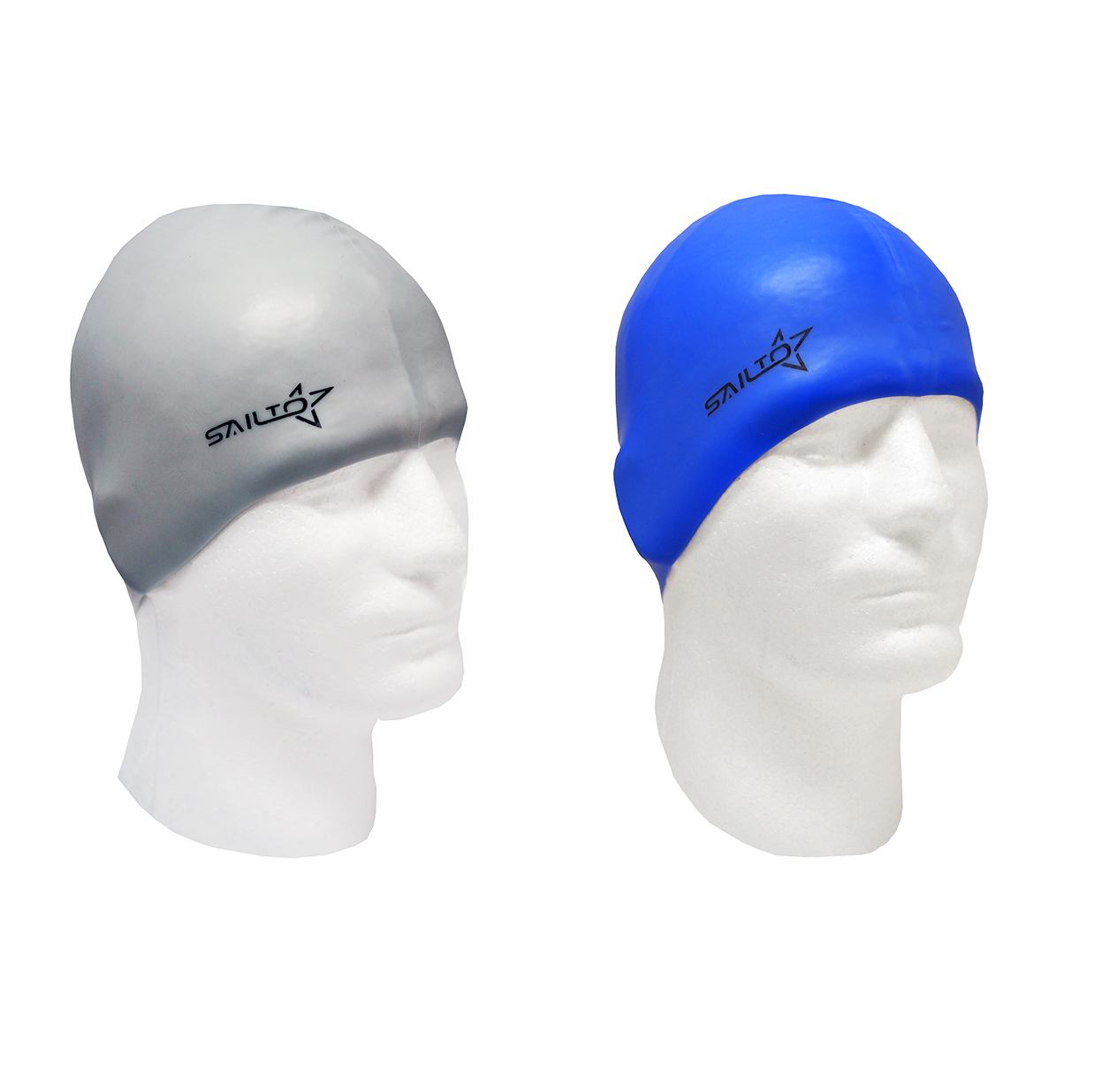 Non Toxic and Allergenic Silicone Highly Elastic Waterproof Swim Cap for Adults or Children with Swimming Goggles and... by