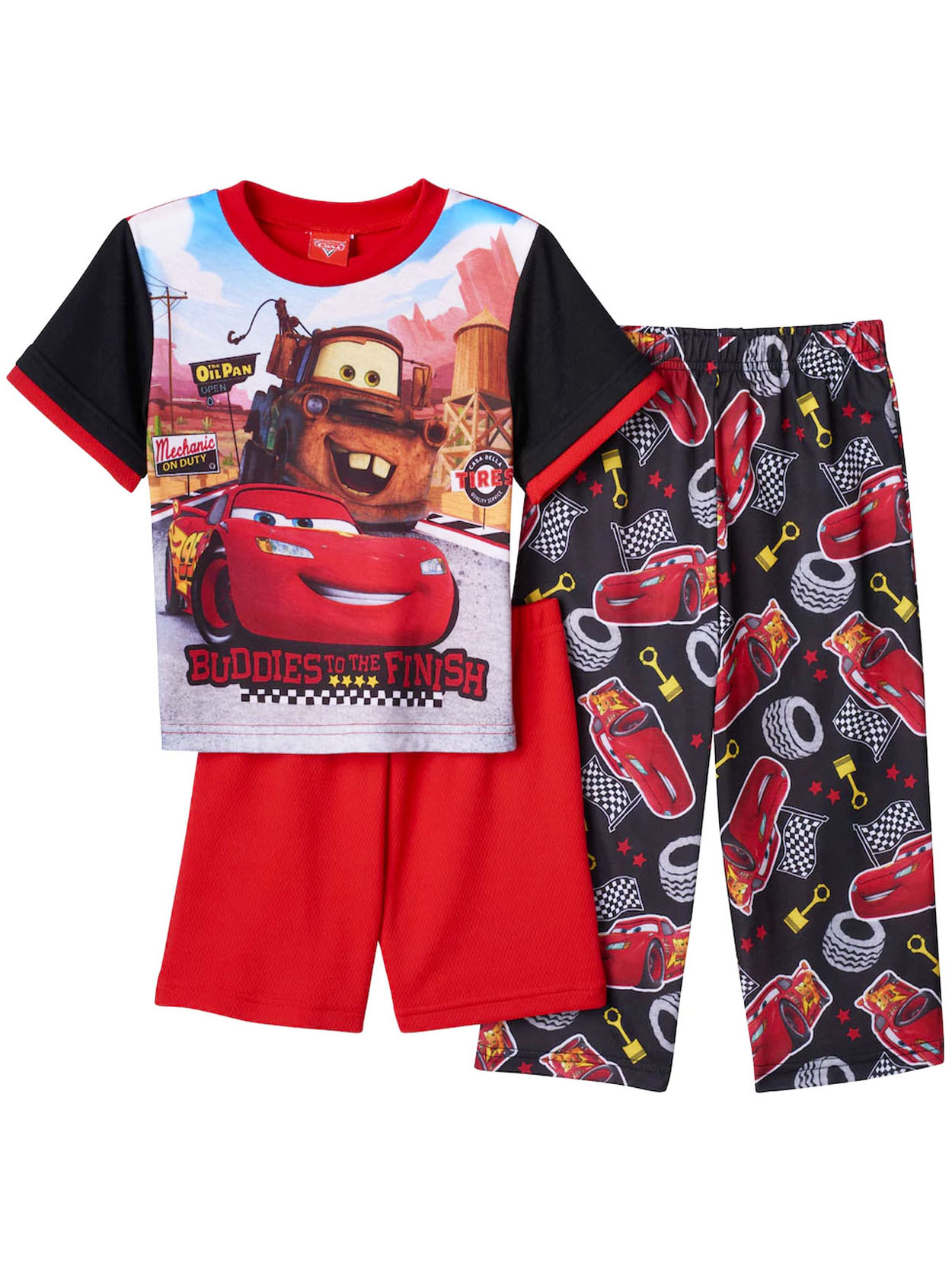 Disney Cars Toddler Boys 3 piece Pajamas Set 21CR075EZS