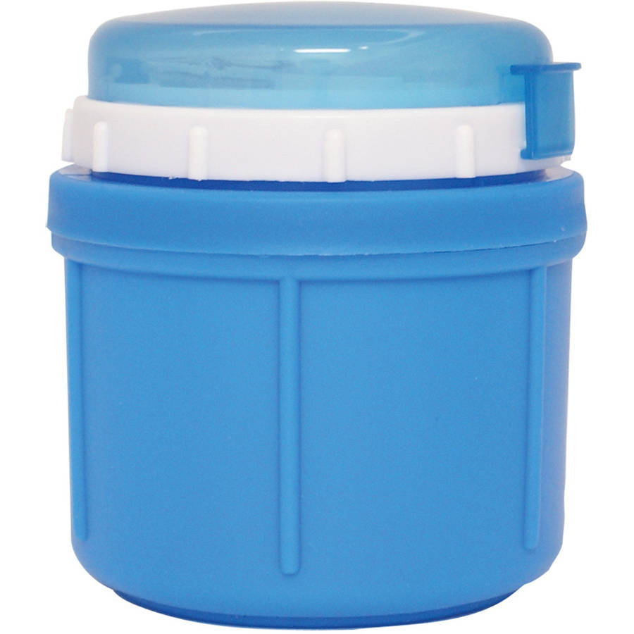 Range Kleen GO GO Foam Insulated Food Jar, 10 oz, Best Berry Blue