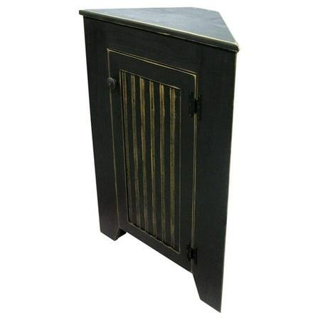 - Sawdust City Corner Storage Cabinet, Antique Cottage