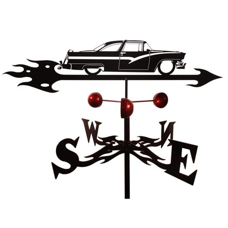 Flat Top Roof - SWEN Products Farrell Crown Vic Hard Top Steel Weathervane