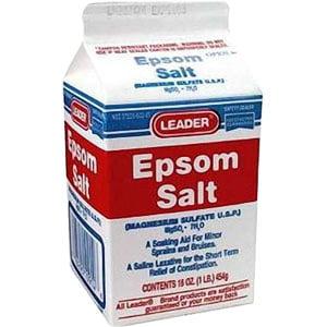 Leader Epsom Salt Granules, 16 oz. - 1 Pack ()