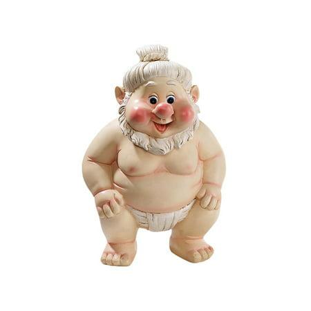 - Far East Garden Fighters Gnome Statue: Sumo