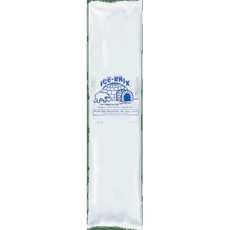 "Ice-brix gel refrigerant pack, 24 oz., 8"" x 6"", 1-1/4"" thick part no. ib24 (24/case)"
