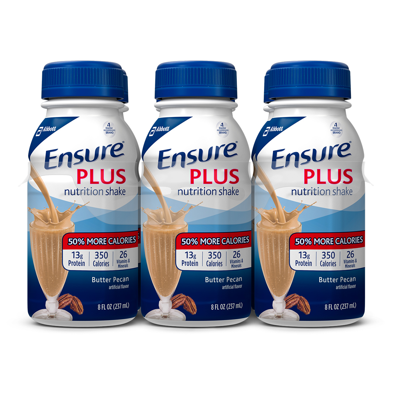 Ensure Plus Nutrition Shake with 13 grams of protein, Meal Replacement Shakes, Butter... by Abbott Laboratories,ABBN7