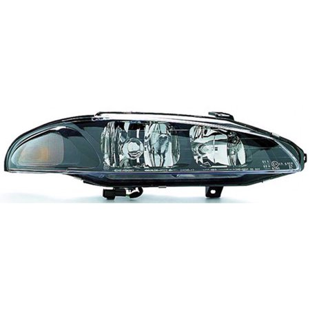 1997-1999 Mitsubishi Eclipse  Aftermarket Passenger Side Front Head Lamp Assembly MR485144-V