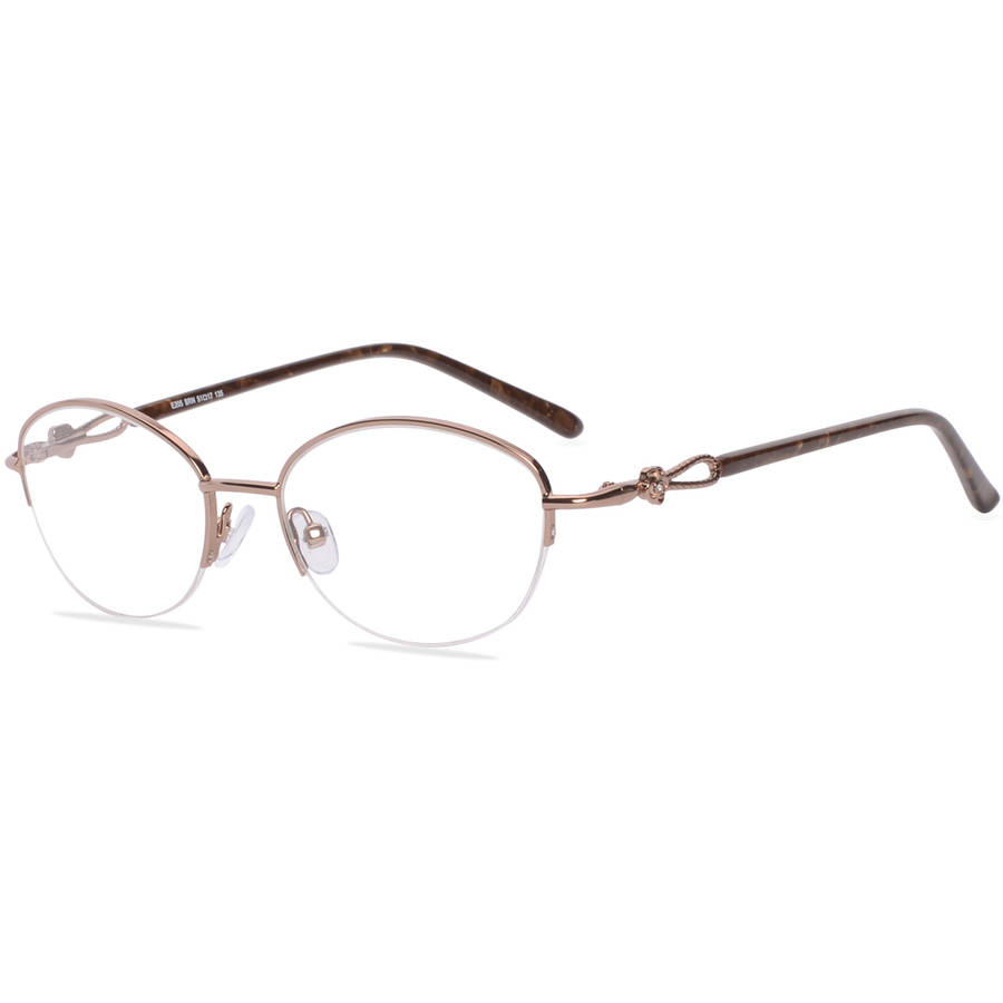 Visage Womens Prescription Glasses, E205 Brown