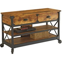 Better Homes and Gardens Rustic Country Antiqued TV Stand (Pine)