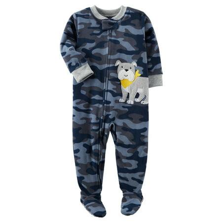f2d34f063 Carter s Baby Boys  1 Piece Dog Fleece Pajamas