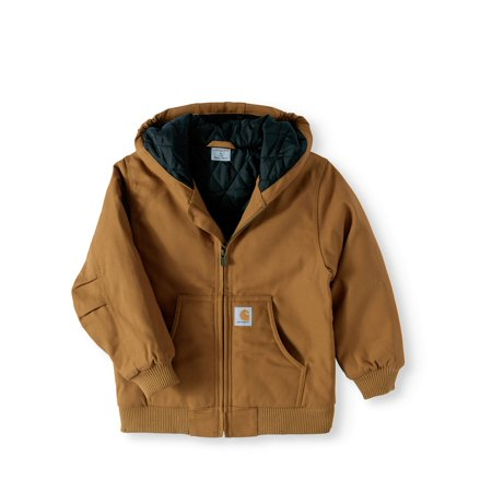 (Boys' Work Active Quilt Lined Jacket)