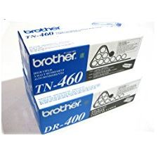 Brand New Genuine Original OEM Brother TN460 Toner Cartridge and DR400 Drum Unit by Brother