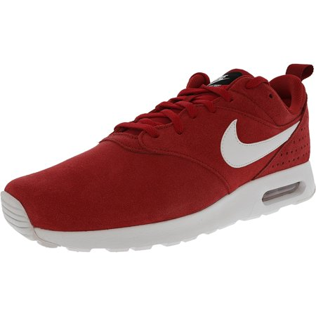 c6b000c36b1 Nike Men s Air Max Tavas Gym Red   White-Black Ankle-High Cross Trainer  Shoe - 12M