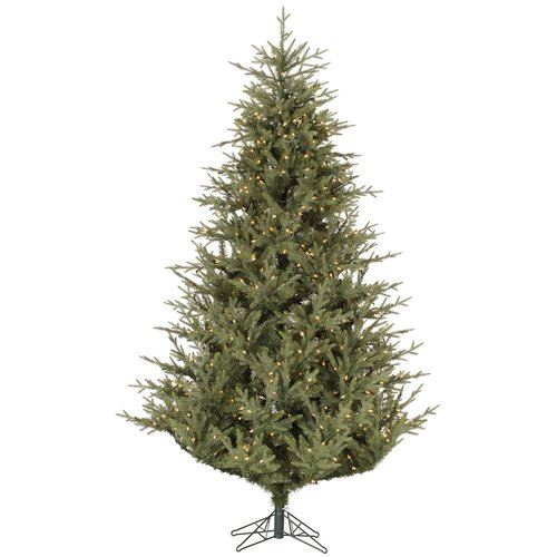 The Holiday Aisle Sutter Creek 6.5' Green Fir Artificial Christmas Tree with 450 Dura-Lit Clear Lights