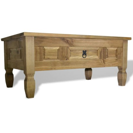 - vidaXL Coffee Table Mexican Pine Corona Range 39.4