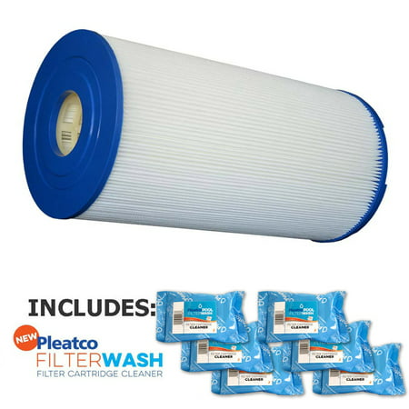 Pleatco Cartridge Filter Psd65 2 Sundance 65  2 5 8   I D   6540 481 W  6X Filter Washes