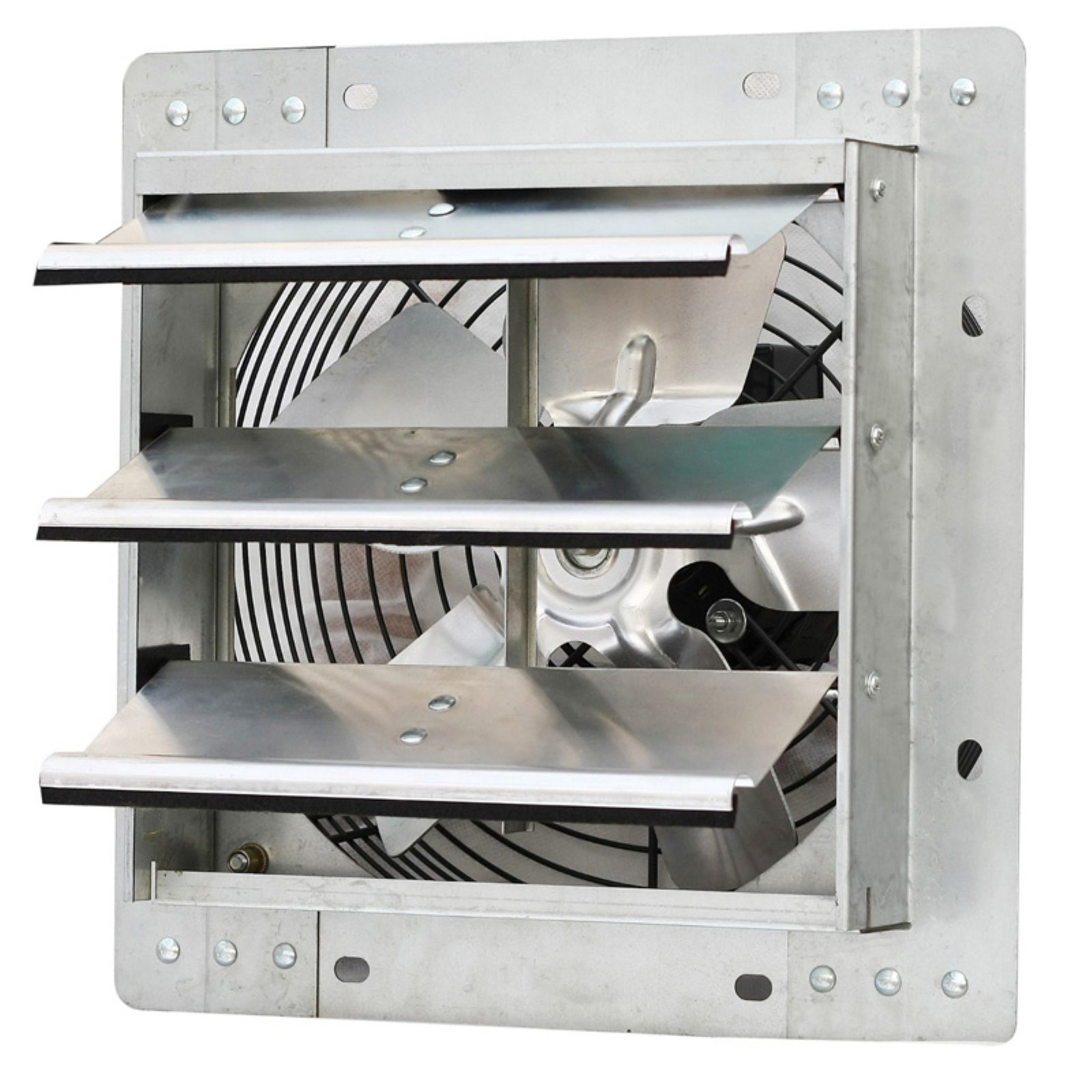 """iLIVING 10"""" Variable Speed Shutter Exhaust Fan, Wall-Mounted"""