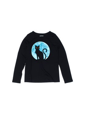 Pre-Owned Lands' End Girl's Size 7 Long Sleeve T-Shirt