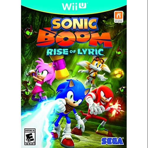 Sega Sonic Boom: Rise Of Lyric - Action/adventure Game - Wii U (67110)