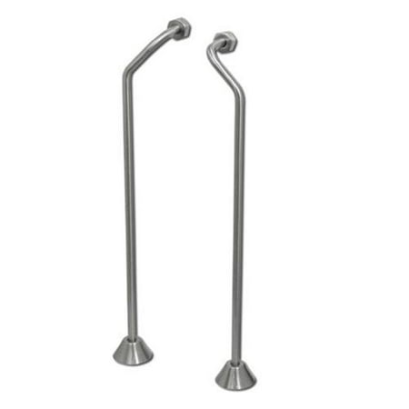 American Bath Factory F1090-SN Supply Lines in Satin Nickel American Bath Factory Stone