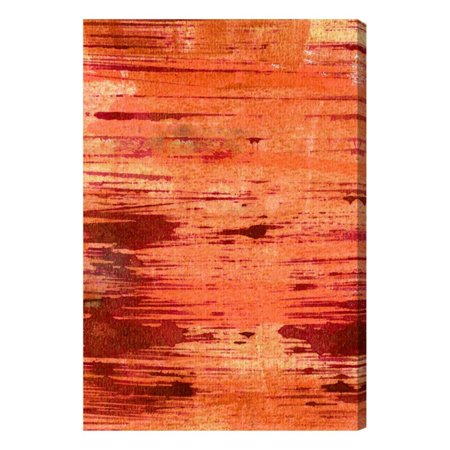 Oliver Gal Orange Bonfire Canvas Wall Art - Walmart.com