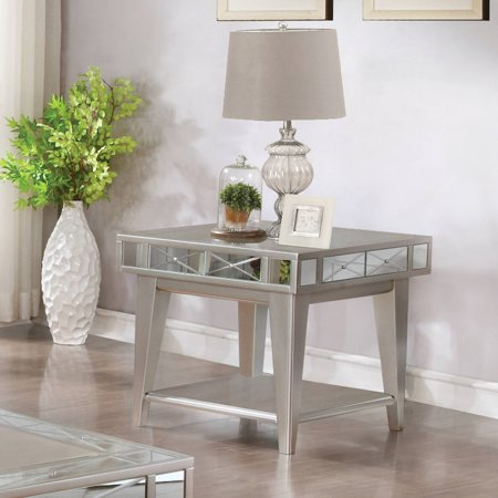 Coaster 1 Shelf End Table in -