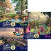 Thomas Kinkade Disney Movie Collection 750 Piece Jigsaw Puzzle Gift Set (3 Puzzles) 2903-7-8-9