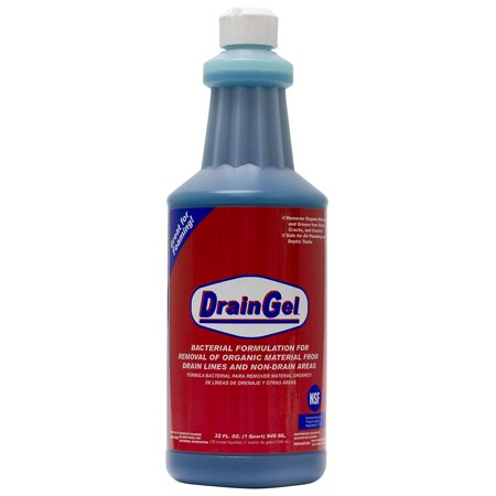 Drain Gel - 1 Quart (Kill Drain Fly, Fruit Fly Control), Live Active Cultures By AMERICAN