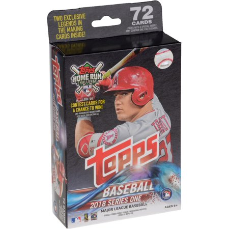 Signed Replica Lineup Card (2018 Topps Baseball Series 1 Retail Factory Sealed 72 Card Hanger Pack)