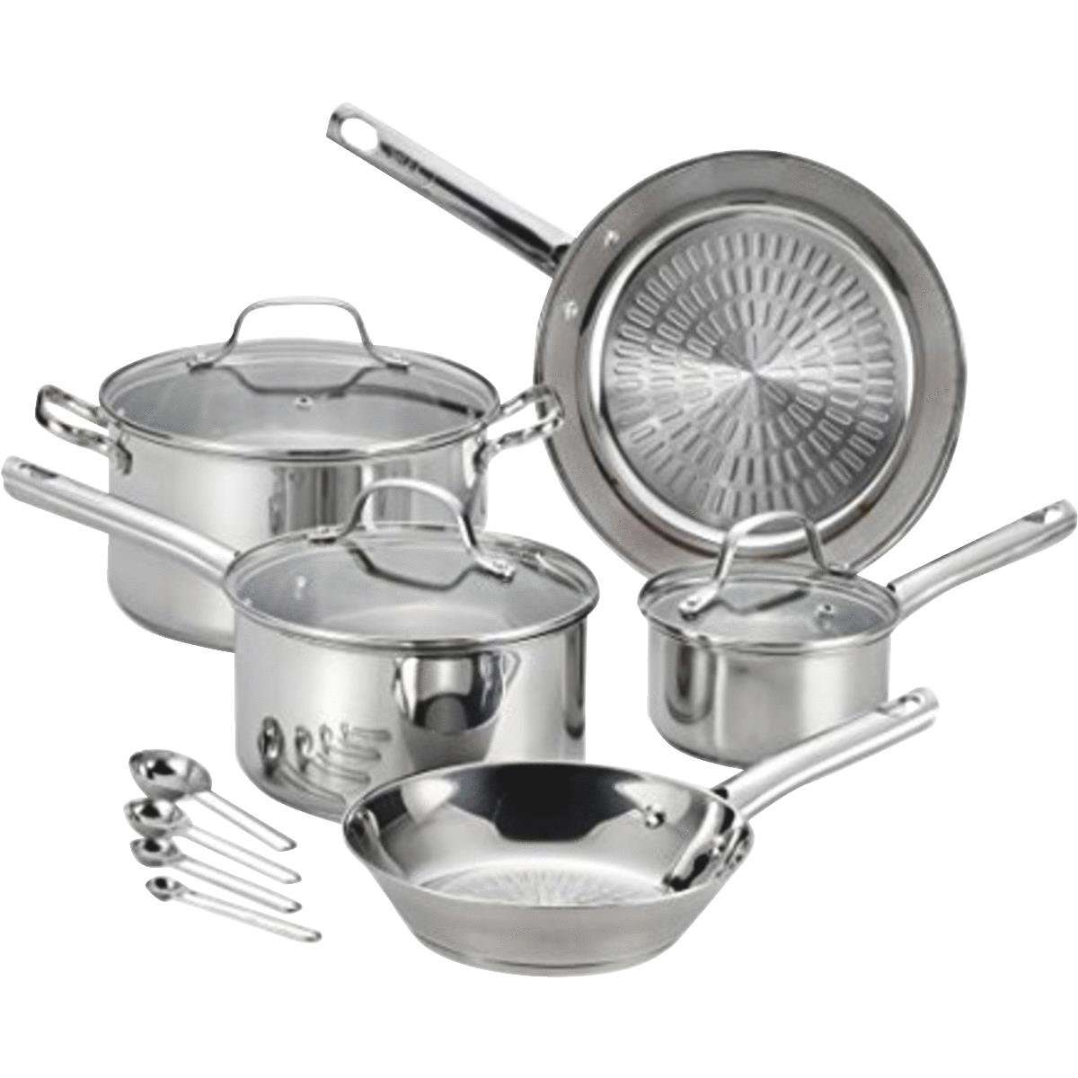 T-Fal Performa Stainless Steel 12Pc Set