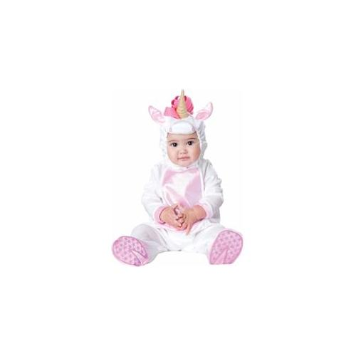 In Character Costumes 212958 Magical Unicorn Infant - Toddler Costume - White - Size 6-12 Months