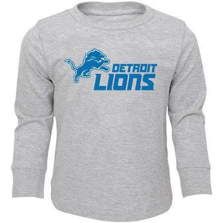 Infant Heathered Gray Detroit Lions Team Long Sleeve T-Shirt