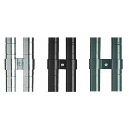 Focus Foodservice FPOCLBK Post clamps, 2 per pkg - black epoxy - image 1 of 1