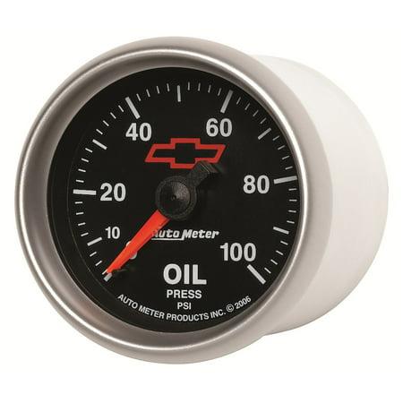 AutoMeter 3621-00406 GM Series Mechanical Oil Pressure Gauge Autometer Autogage Mechanical Oil