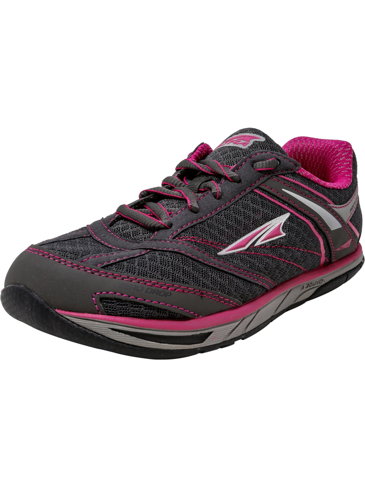 Altra Women's Provioness Charcoal / Magenta Ankle-High Running Shoe - 5.5M