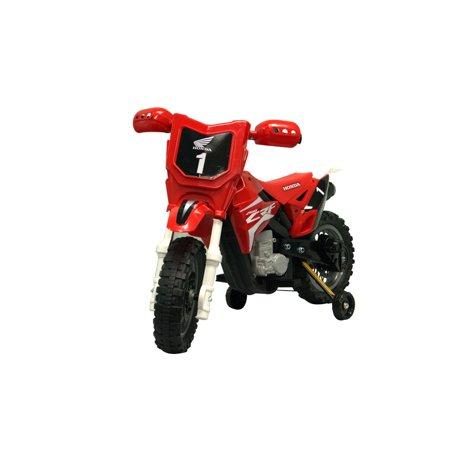 Best Ride On Cars Honda CRF250R Toddler Kids Electric 6 Volt Toy Dirt Bike,