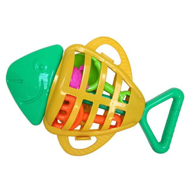 Sunshine Trading SB-38 Fish Sand Toy - 7 Piece Set