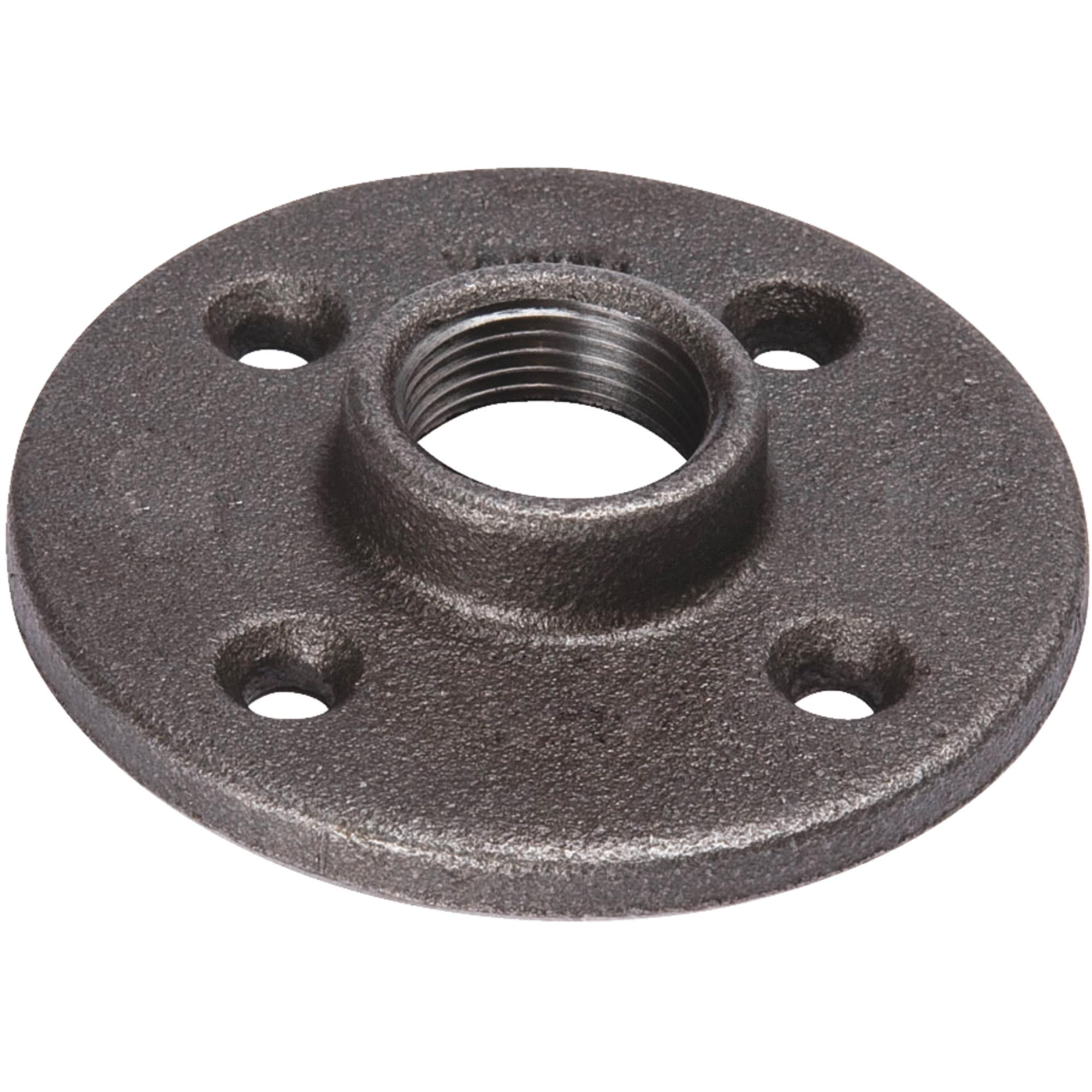 Black Iron Floor Flange
