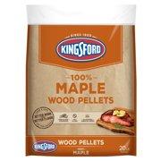 Kingsford 100% Hardwood Pellets for Grills, Maple, 20 Pounds