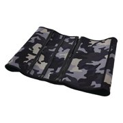 Stamina Adjustable Zipper Waist Trimmer - S/M - camo print - with Microban