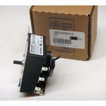 Clothes Washer Timer Control Assembly (WE04X20415 GE General Electric Dryer Control Timer OEM PS9491767 AP5805477)