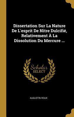Dissertation sur la nature