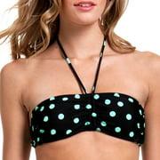 Op Juniors Rock Dot Bandeau Bikini Top