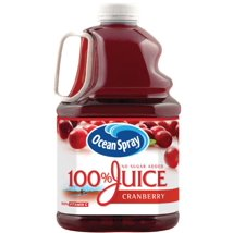 Fruit Juice: Ocean Spray 100% Juice