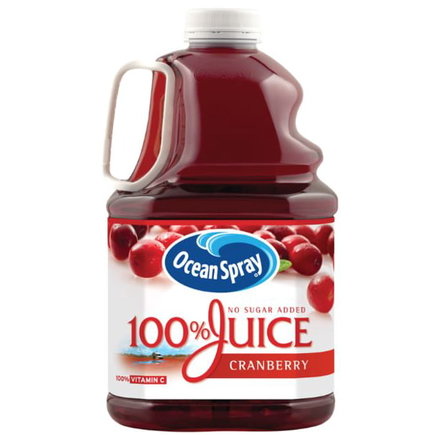 Ocean Spray 100 Juice Cranberry 101 4 Fl Oz Walmart Com Walmart Com