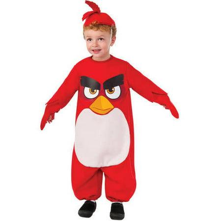 "Angry Bird ""Red"" Toddler Halloween Costume - Walmart.com"
