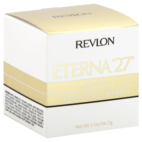 Revlon Eterna '27 All Day Moisture Cream, 2 Oz